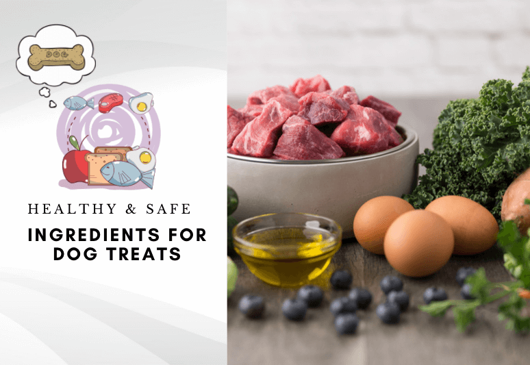 Healthy & safe ingredients for dog treats - how to make dog treats safely